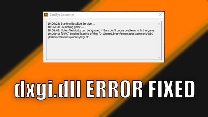 BattlEye launcher error or issues when starting BattlEye service
