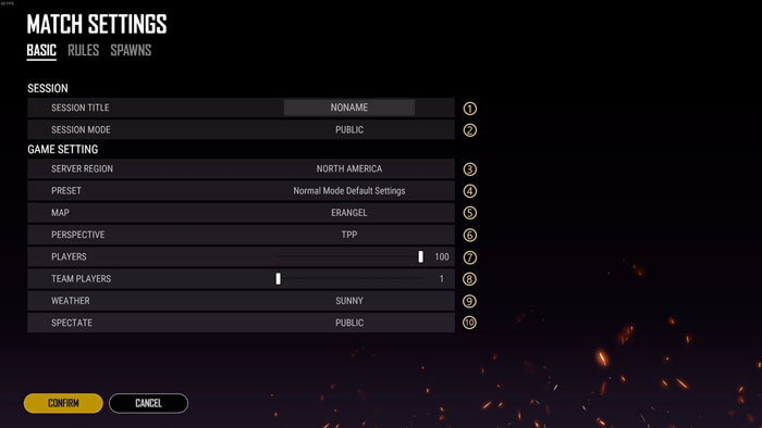 Esports Mode - Basic Settings