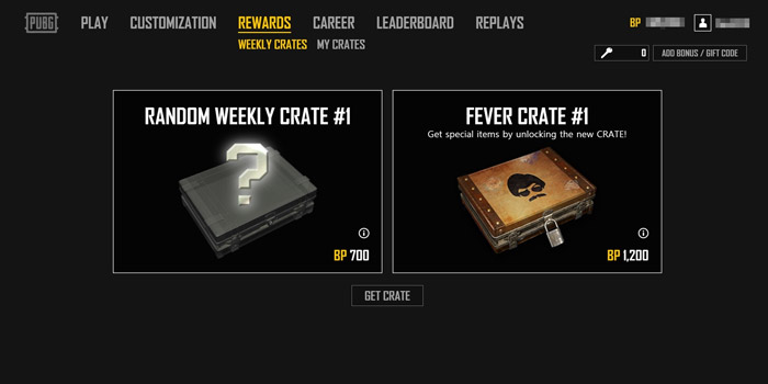 Where to get the Fever and Militia crates in PlayerUnknown's Battlegrounds