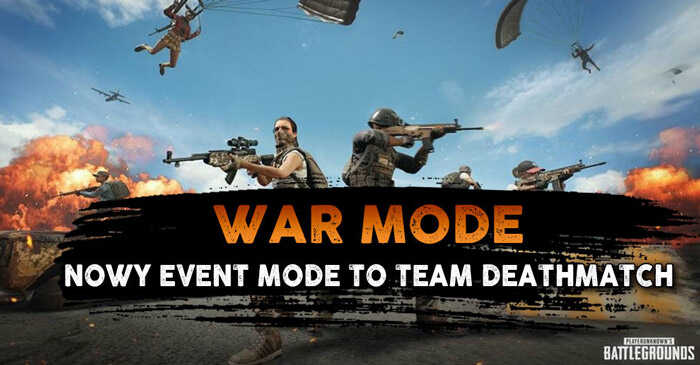 PUBG Event Mode: War