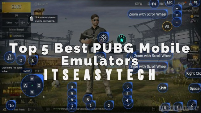 Top 5 Best Emulator for PUBG Mobile on Windows And Mac
