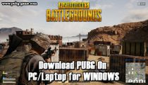 Download PUBG On PC/Laptop for WINDOWS