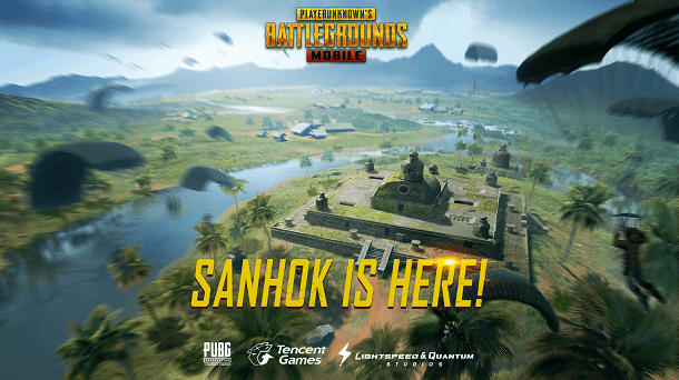 PUBG Mobile Sanhok Map New Update