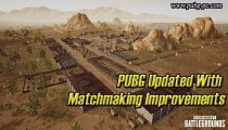 PUBG Updated With Matchmaking Improvements