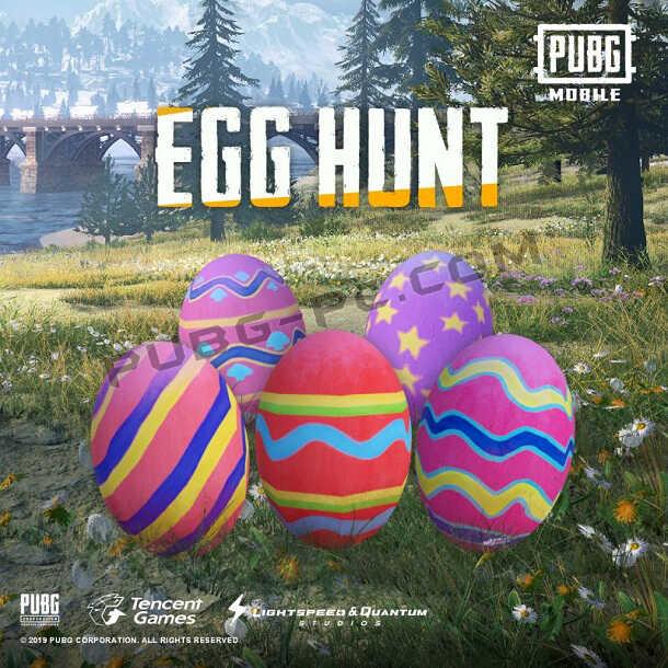 Egg Hunt in PUBG Mobile Easter