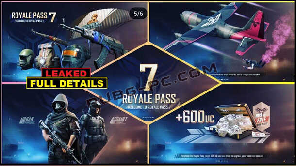 PUBG Mobile Season 7: All Royale Pass