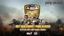 PUBG Classic In Bangkok At The MET Asia Series