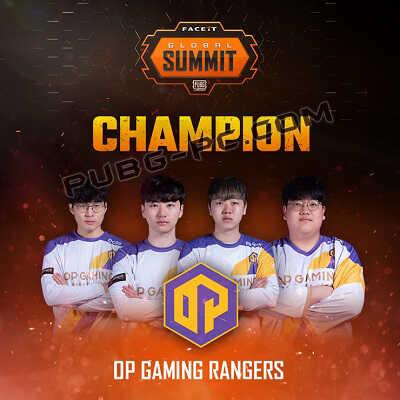 PUBG FACEIT Global Summit championship