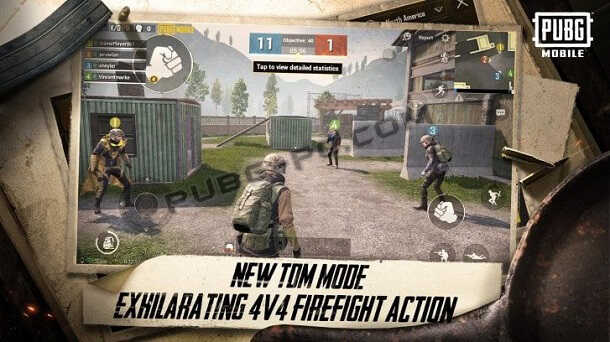 Download PUBG Mobile 0.13.0 With New Features