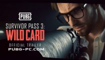 PUBG Survivor Pass 3: Wild Card