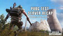 PUBG Test Server Recap