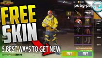 PUBG Mobile: 5 Best Ways To Get New Skins Free