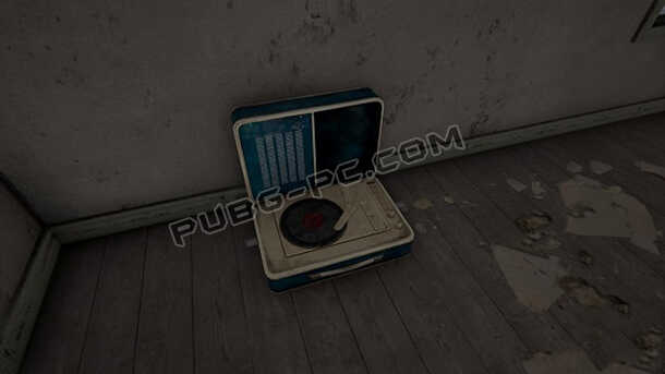 Introduced turntable to Erangel Map