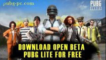 Download Open Beta PUBG Lite For Free!