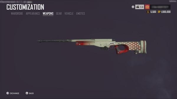 Added BattleStat weapon skin to PUBG game download