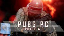 PUBG PC Update 4.3