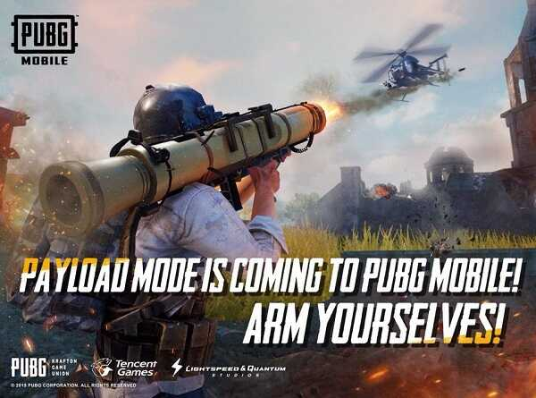 About the new arcade mode - Payload Mode featured in PUBG Mobile 0.15.0