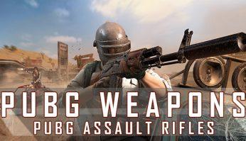 PUBG Assault Rifles
