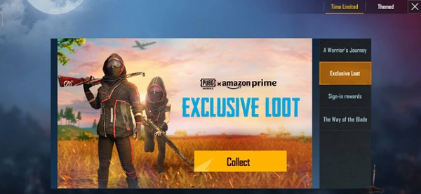 """""""Exclusive Loot"""" Event in The Time-limited Event in PUBG Mobile"""