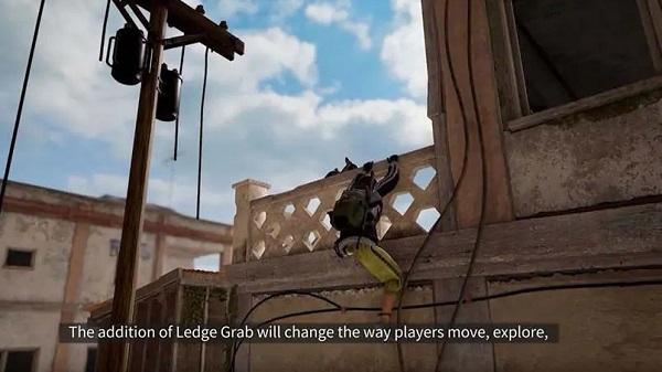 Ledge Grab and Sliding Effect