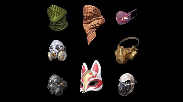 A Wide Array of Attractive Skins For The Masks