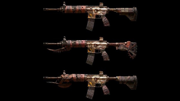 Attractive Skins For M416 LAD level 1, level 5, and level 7