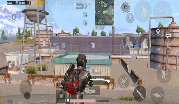 Power Plant is also a nice area in PUBG Mobile Livik for you to loot items