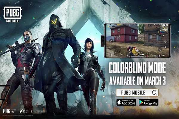 Outstanding features of PUBG Mobile Colorblind Mode