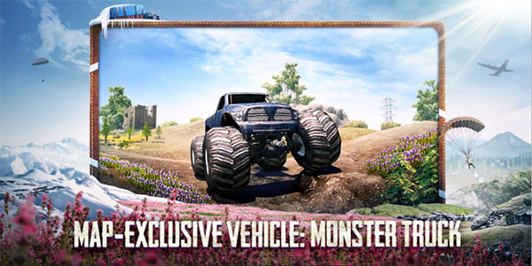 Released an exclusive vehicle to PUBG Mobile Livik