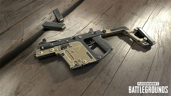Vector is the second good weapon choice for your PUBG Mobile arena training matches