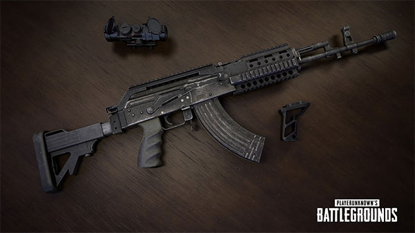 Beryl M762 is the top gun for your matches in PUBG Mobile arena training mode