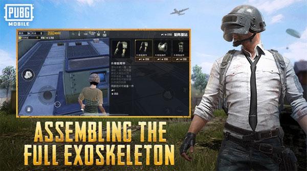 Assembling The Full Exoskeleton