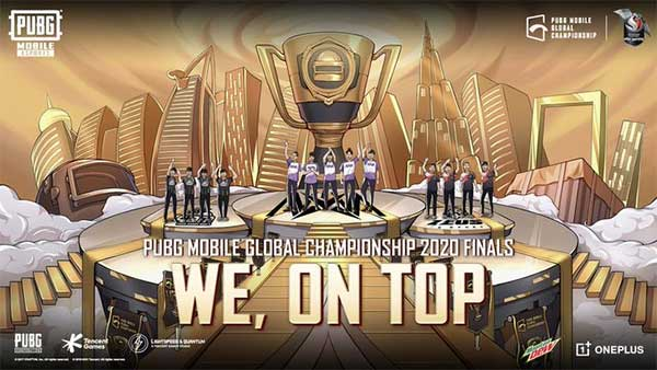 PUBG Mobile Global Championship 2020 Finals on their official Twitter.