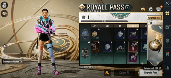 The special VSS skin 'Pink & Blue Harmony' is also the most attractive rewward in Free Pass.