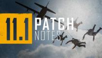 PUBG 11.1 Update