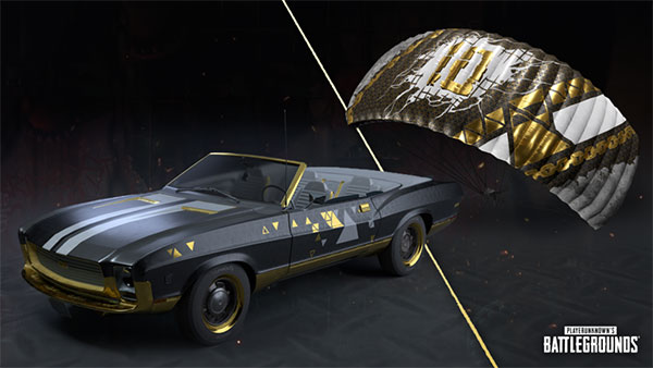One of the rewards that players will receive for PUBG season 10.